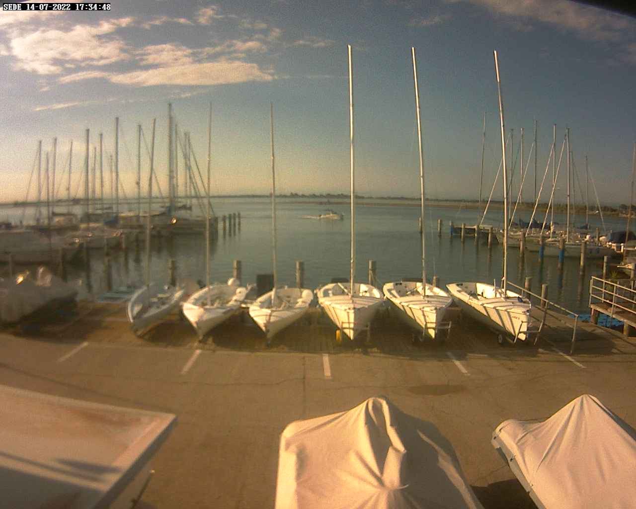 Webcam Grado Marina Via Aquileia live